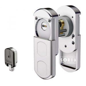 escudo magnetico protector anti-okupa disec mg351 okp co - protección exterior e interior.