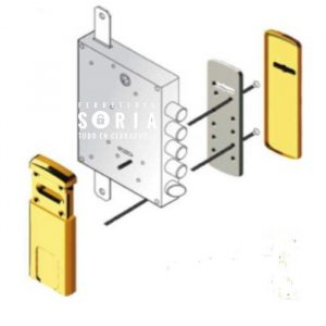 escudo-protector-magnetico-cerradura-gorja-mg220 W Z
