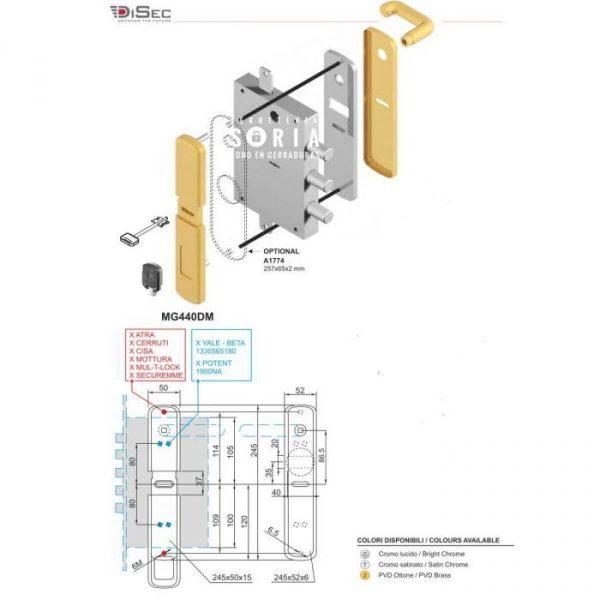 escudo-protector-magnetico-cerradura-gorja-mg440 dm medidas1