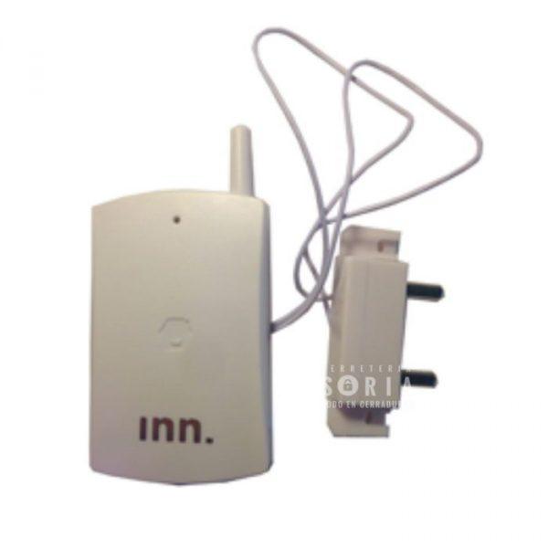 Detector de inundación Sensor de inundaciones inalámbrico con LED de aviso del estado de las baterías. Apropiado para segundas residencias, cocinas de restaurantes y embarcaciones deportivas.