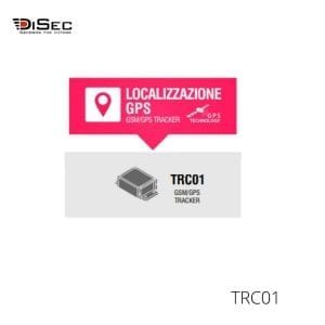 GPS localizador para furgonetas TRC01 DISEC