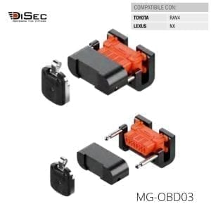 Protector magnético conector vehículo MG-0BD03 DISEC