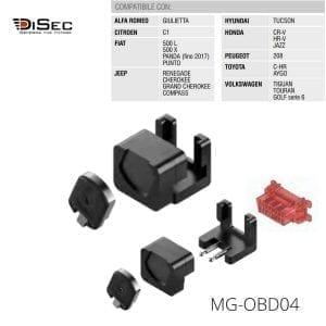 Protector magnético conector vehículo MG-0BD04 DISEC